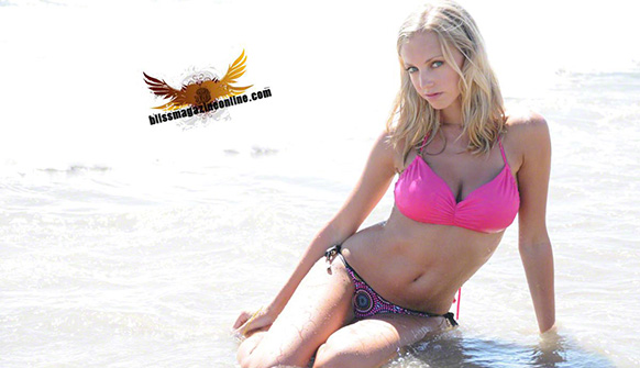 Ashley | Beach Blonde | Bliss Girls | Bliss Magazine Online | Bikini
