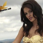 Rae | Yellow Bikini | Bliss Girls | Bliss Magazine Online | Brunette Beauty & Brains