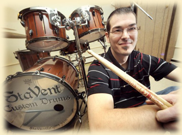 StaVent Drums | Neil Peart Are You Listening? | Bliss Magazine Online | Breaking Benjamin | Crystal Roxx